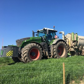 Slurry application